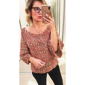 Anthropologie Sweaters - Anthropologie Moth Salina Open Knit Sweater
